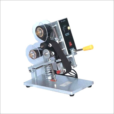 Ribbon Hot Printing Machine Manual Hand Operated