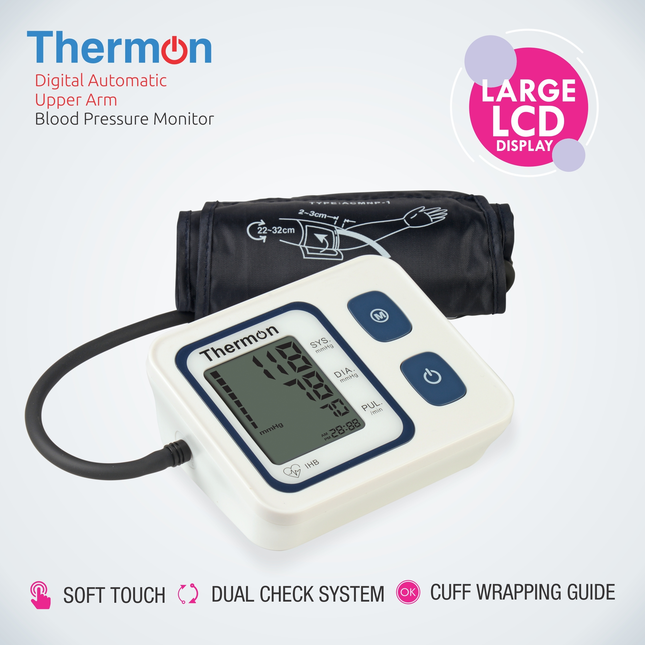 Thermon Digital Blood Pressure Monitor
