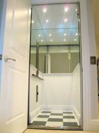 Residential glass elevators