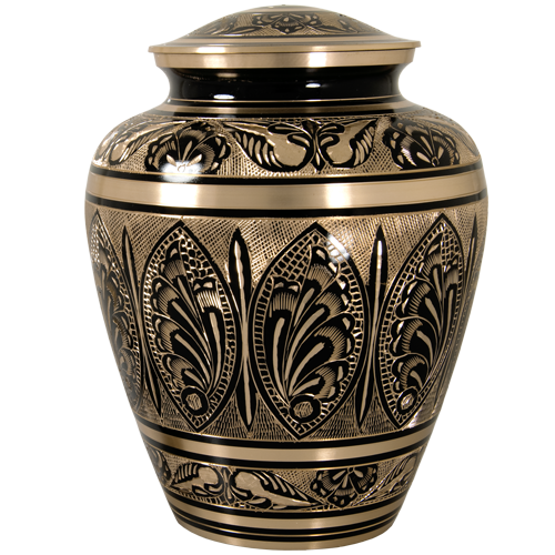 Brass Metal Biarritz Cremation Urn