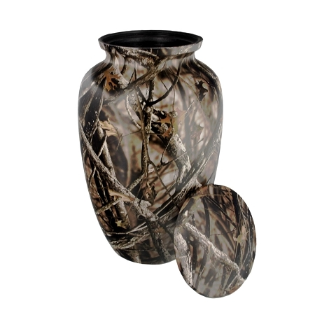 Camouflage Memorial Classic Urn