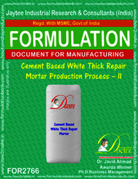 Cement Based White Thick Repair Mortar-II