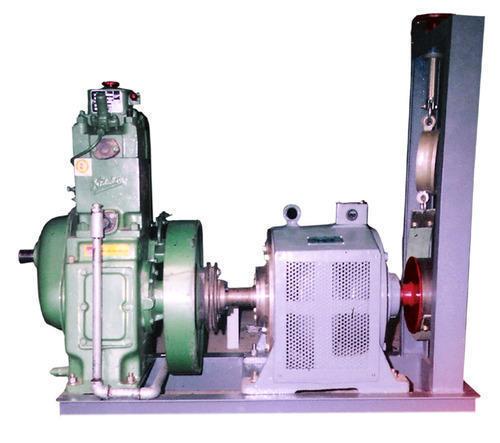 Four Stroke Single Cylinder Diesel Engine With Loading Set