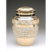 Brass M.O.P Cremation Urn