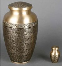 Aristocrat Textured Cremation Urn with Token