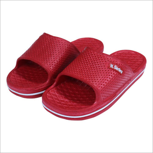 Red PVC Slipper