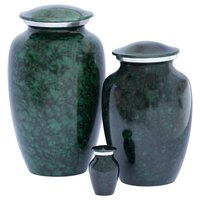 Classic Denim Alloy Cremation Urn