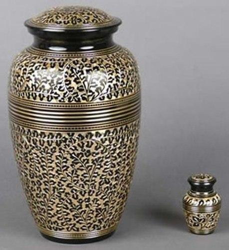 Leopard Print Classic Urn