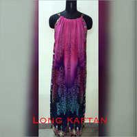 Ladies Long Kaftan Top