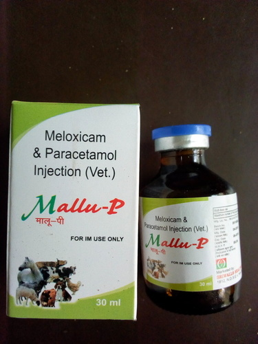 Meloxicam and Paracetamol Veterinary Injection
