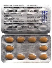 Tadalafil Tablet 20 Mg