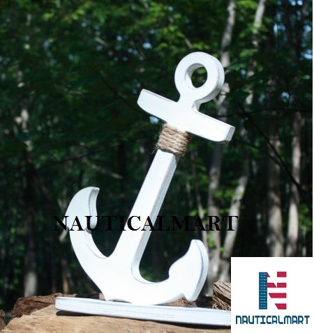 NauticalMart Ship Wood Anchor 18