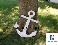 NauticalMart Wooden Boat Anchor 20