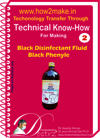 Back Phenyle Fluid Black Phenyl Technical knowHow report