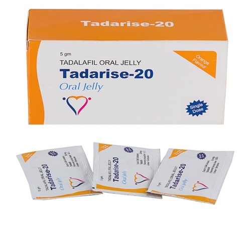 Tadarise Oral Jelly 20 Mg