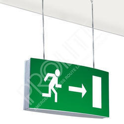 Emergency Escape Route Exit Light