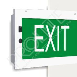 Decorative Egress Route Exit Light