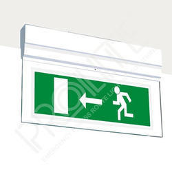 Surface Mounted Emergency LED Exit Light