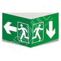 Emergency LED Egress Exit Light