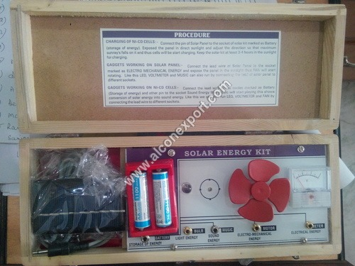 Solar Energy Kit 4 in 1