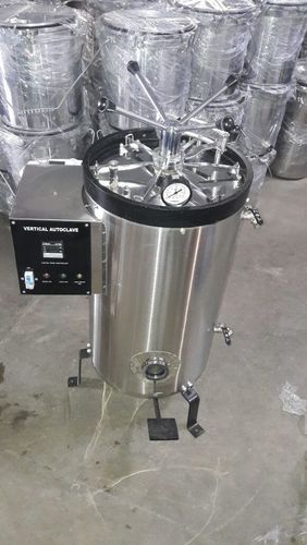 Vertical Double Drum Autoclave