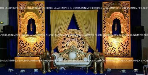Medallion Theme Wedding stage