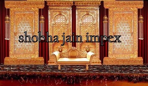 Golden Jali Stage