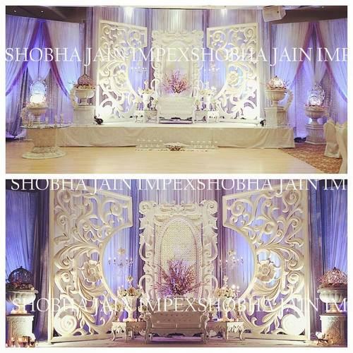 Fiber Panel Wedding Stage