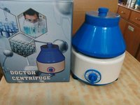centrifuge with coloured box