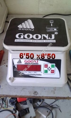 Electronic weighting scales