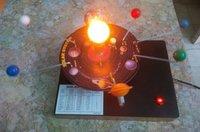 Solar system working model