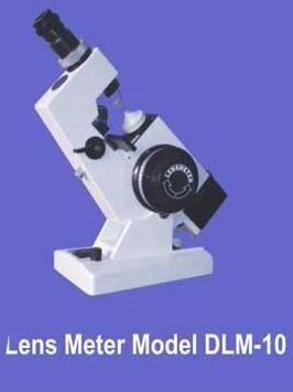 Lensometer Model no DLM 10
