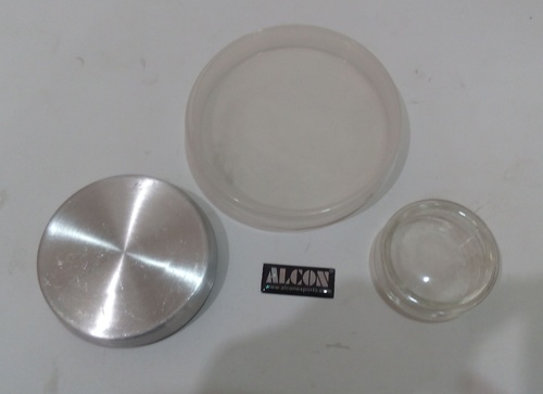 Petri dishes Glass and Aluminium