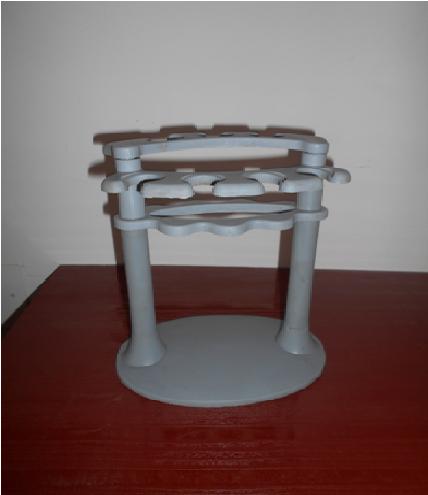 Micro pipette stand round