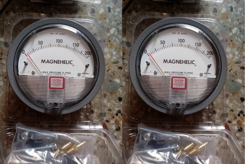 Dwyer USA Magnehelic Gauges 0 To 200 MM WC