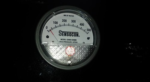 Sensocon USA Magnehelic Gauges 0 To 300 MM WC
