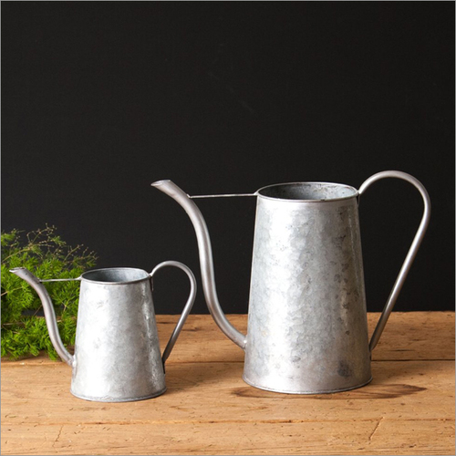 Galvanized Antique Watering Can