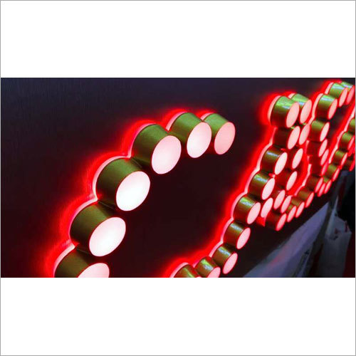 LED Acrylic Signage Board
