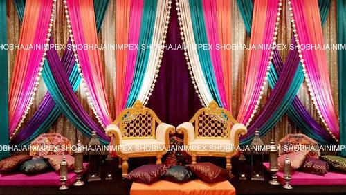 Elegant Sangeet Stage