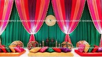 Glowing Sangeet Stage