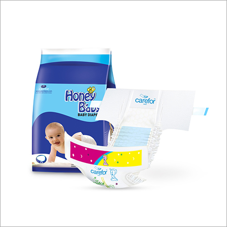 Blue Baby Diaper
