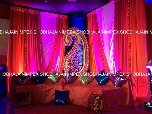 Sangeet Sitting Setup