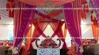 Traditional Sangeet Setup