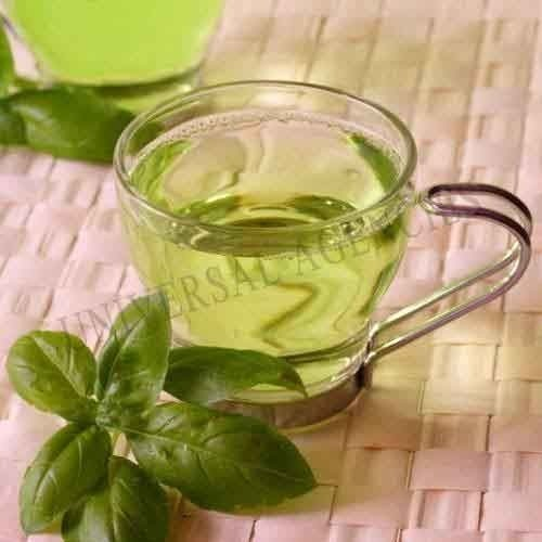 Instant green tea lemon