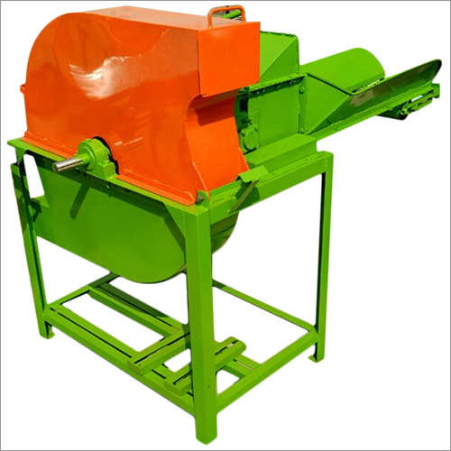 Double Mouth V- Belt With Gear Motor Operated Chaff Cutter