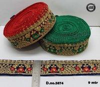 Valvet Embroidery Lace Surat Gujarat