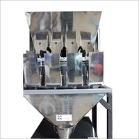 Semi Automatic Four Head Weigh Filler