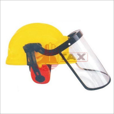 Safety Helmet With Grinding Face Shields