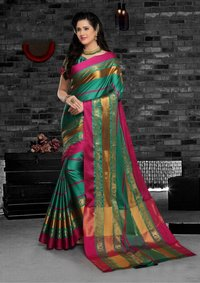 ST namo cotton silk sarees wholesale on sethnic