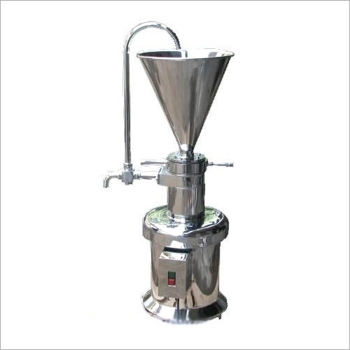SS Colloid Mill Machine